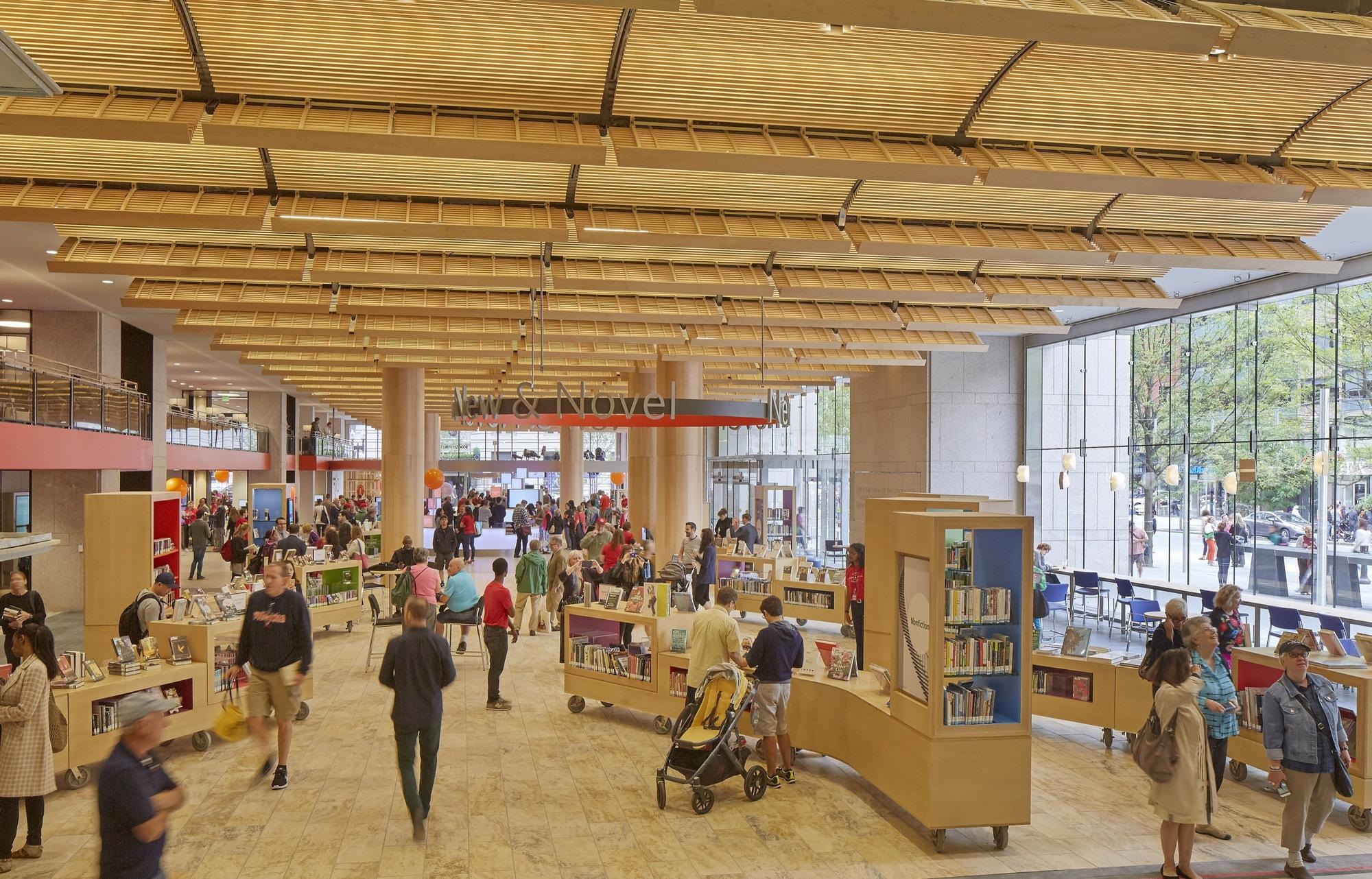 Interior Design Cambridge Public Library