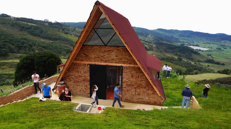Vivienda Social Rural / Estación Espacial Arquitectos, Cortesía de  Sebastian Contreras R