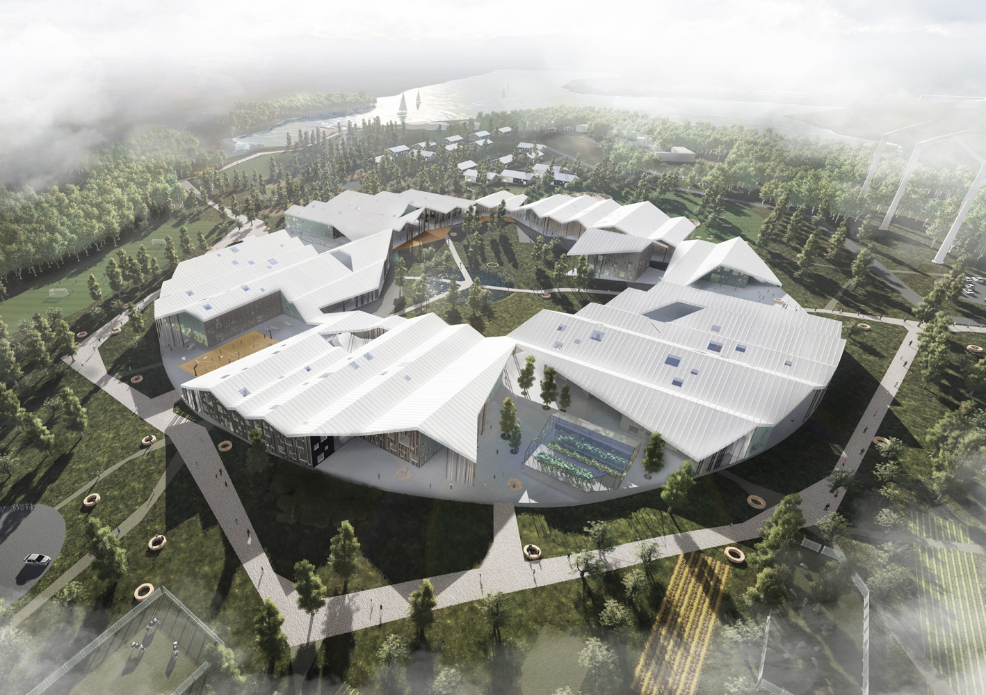 CEBRA's Mixed Use Smart School Proposes A Rethink Of