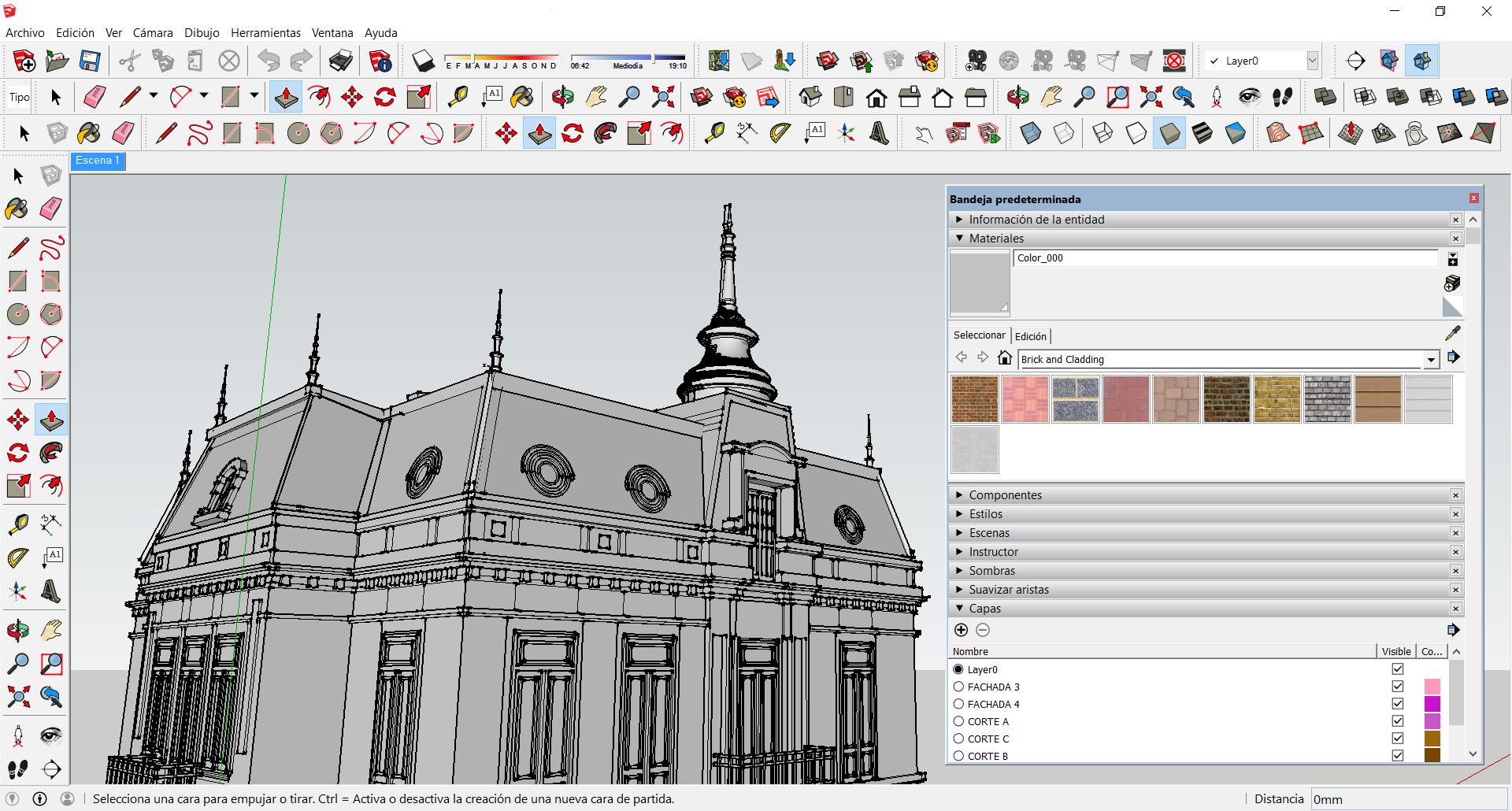 Sketchup Tag Plataforma Arquitectura # Muebles Google Sketchup