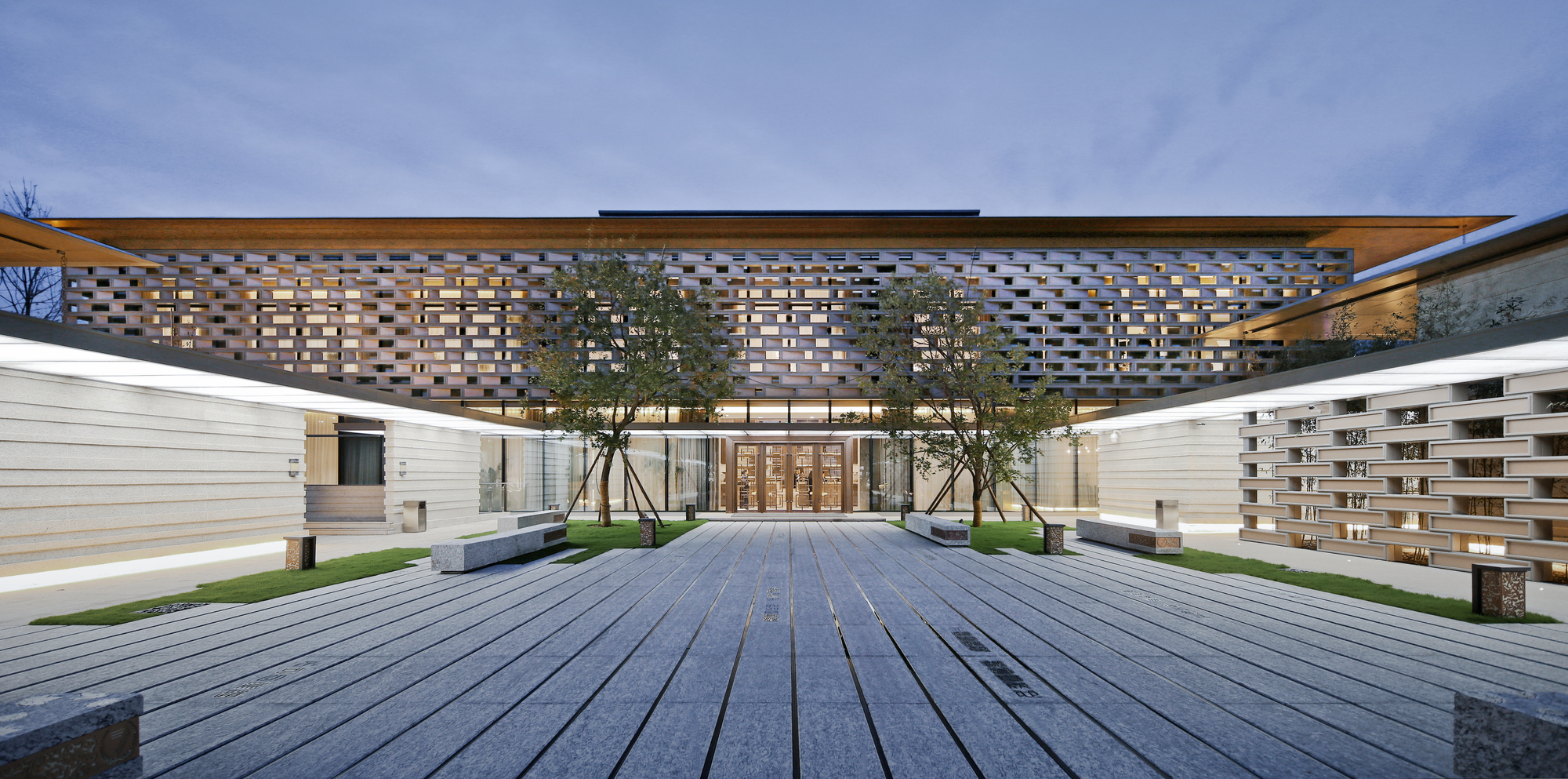 Tianjin luneng taishan college lacime architectural design archdaily - Architecture and design ...