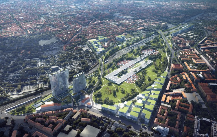 MAD Unveils Proposal to Transform Milan's Dilapidated Railyards, Historical Future: Milan Reborn, Scalo Farini and Valtellina
