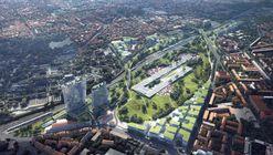 MAD Unveils Proposal to Transform Milan's Dilapidated Railyards