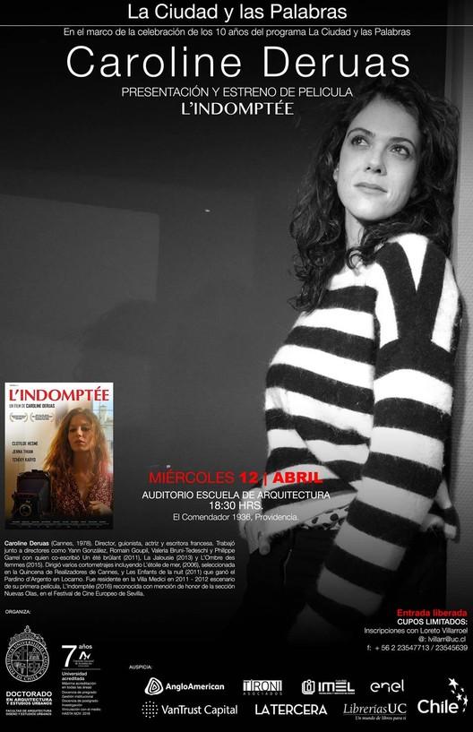 La Ciudad y las Palabras: estreno de la película ''L'Indomptée'