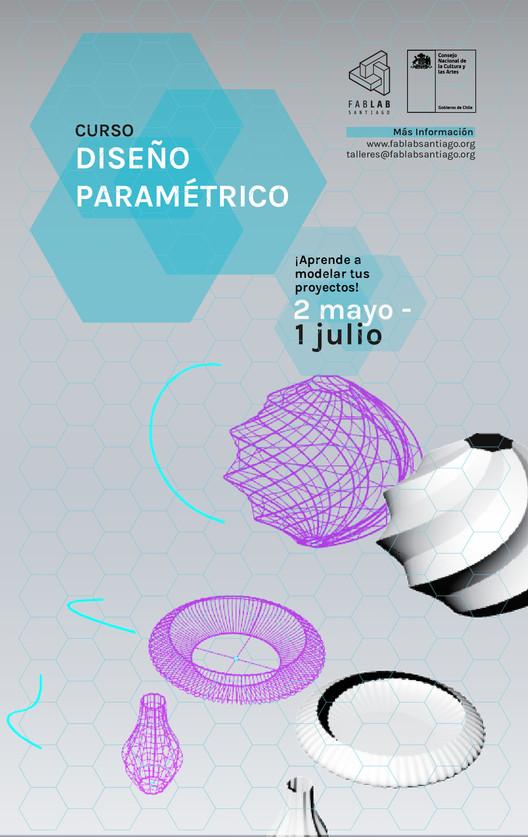 Curso de diseño paramétrico con FabLab Santiago, Fab Lab Stgo
