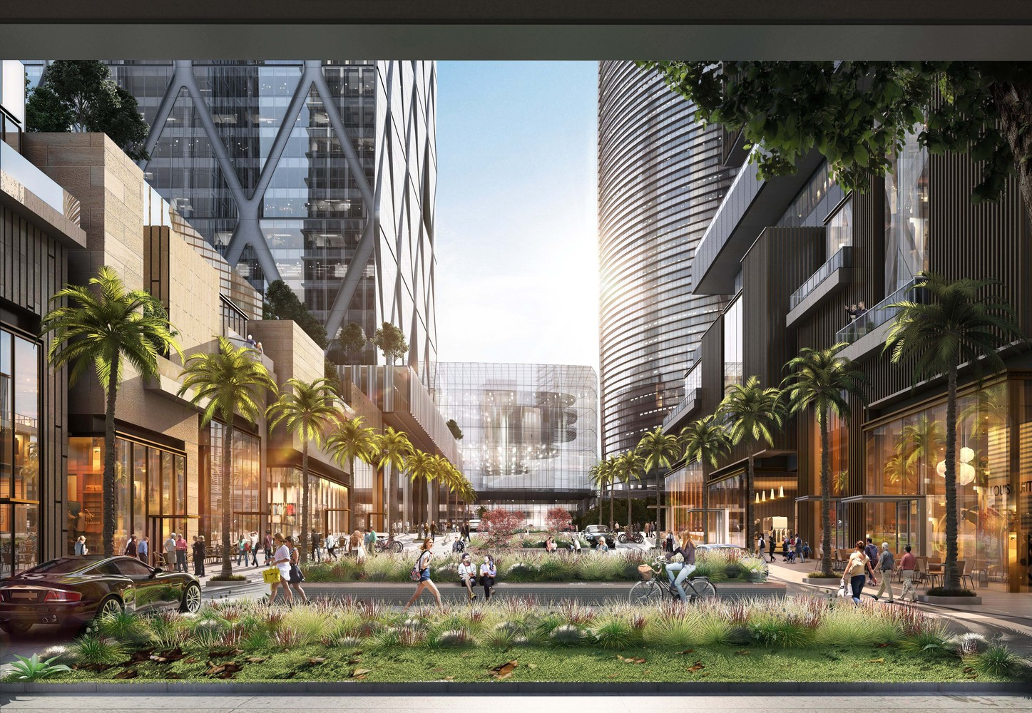 Gallery of Vertical Village - SOM Leads Design of Major Mixed-Use