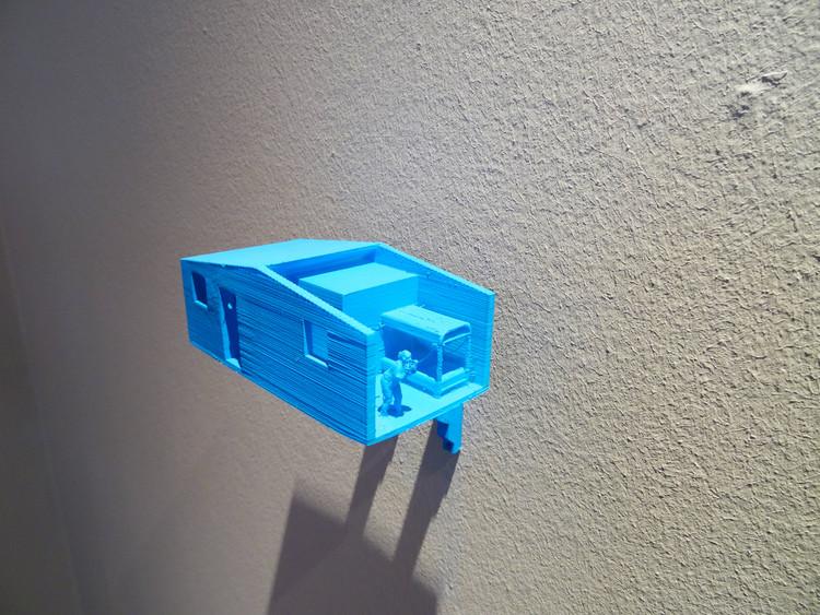 """""""Arquitectura para Piano"""" utiliza esculturas impresas en 3D para re interpretar la arquitectura moderna en Chile, Exposición Centro Cultural Estación Mapocho, Santiago, Chile.. Image Cortesía de Alfredo Da Venezia"""
