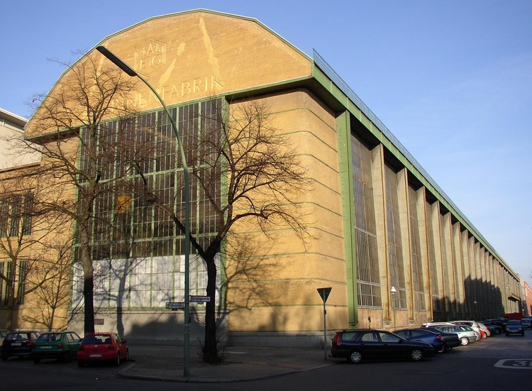 Spotlight: Peter Behrens, The AEG Turbine Factory. Image © <a href='https://commons.wikimedia.org/wiki/File:Berlin_AEG_Turbinenfabrik.jpg'>Wikimedia user Doris Antony</a> licensed under <a href='https://creativecommons.org/licenses/by-sa/3.0/deed.en'>CC BY-SA 3.0</a>