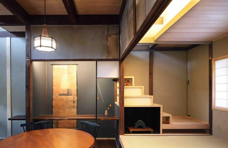 Shimogamo Machiya Villa / Takuma Ohira, © Taizo Furukawa