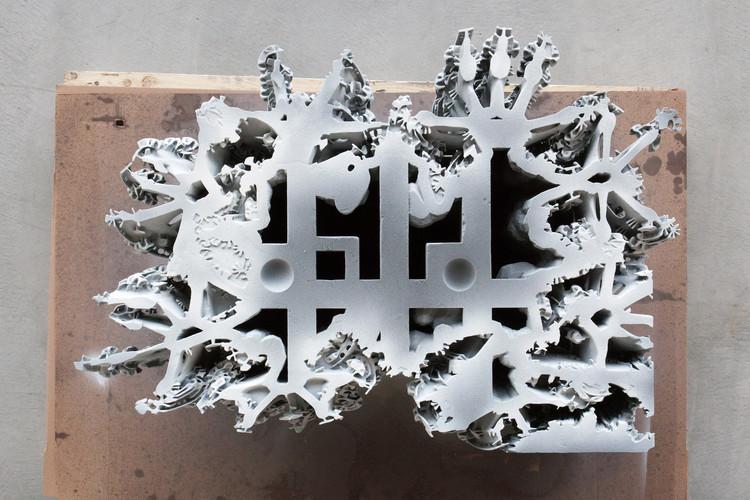 Esta gruta impressa em 3D desafia os limites da geometria computacional e da percepção humana, © Jann Erhard