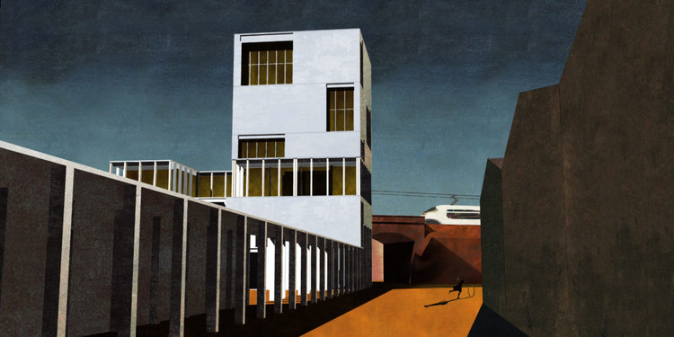 """El sitio web detrás de la revolución del dibujo """"post-digital"""", Depicting Spaces. Imagen cortesía de Tom Grillo"""
