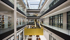 Biblioteca de la Universidad de Birmingham / Associated Architects