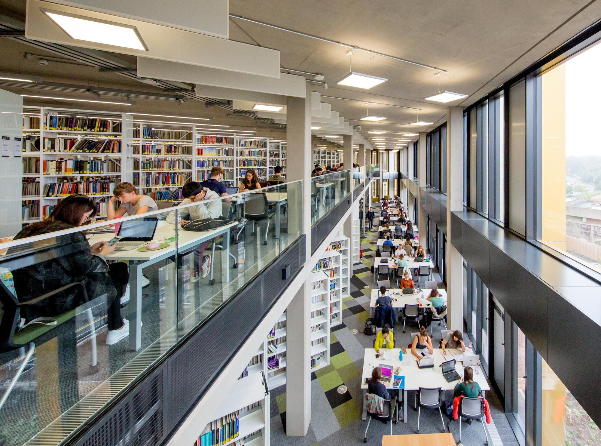 Gallery Of University Of Birmingham S Library Associated