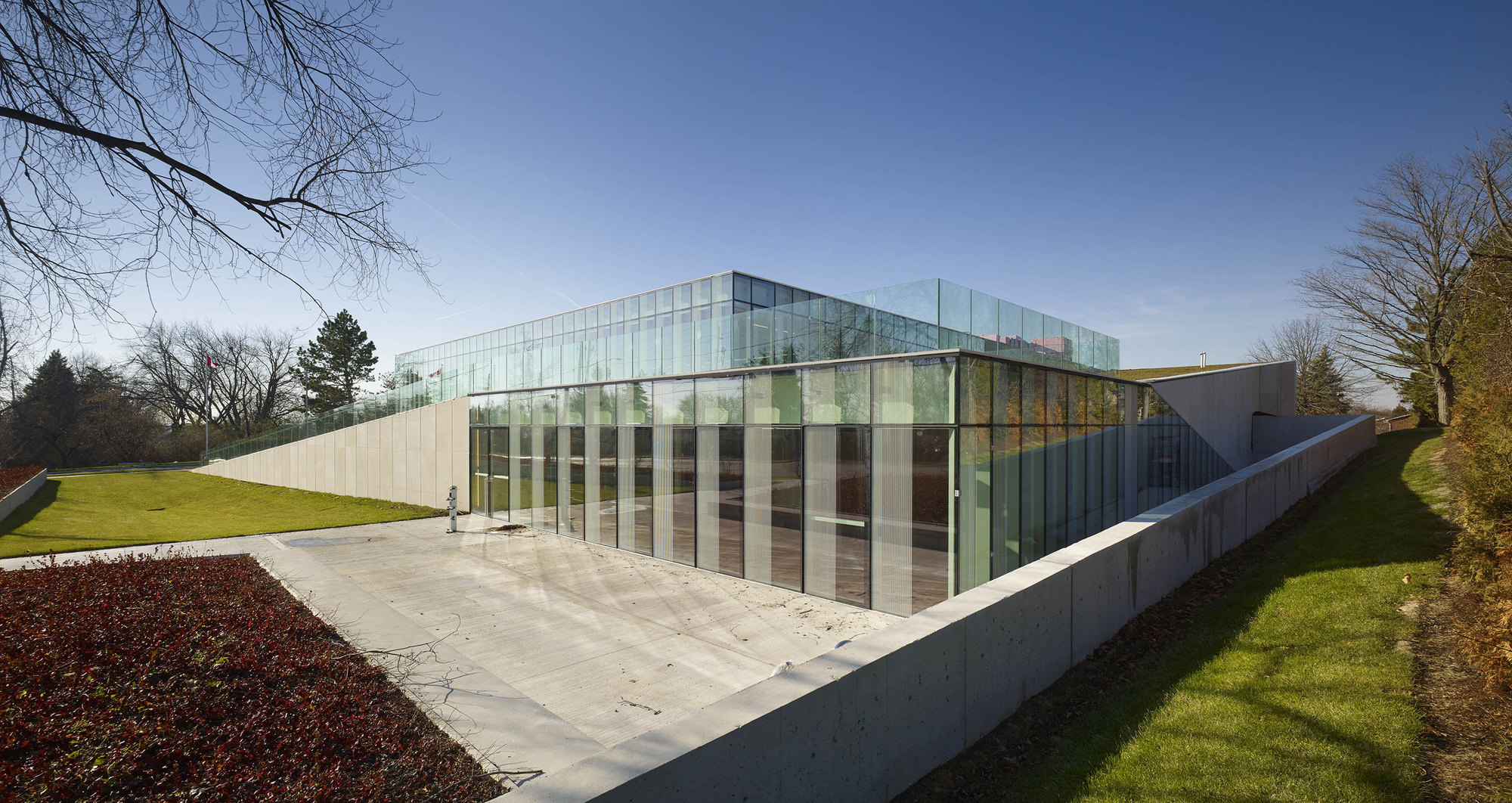 The Waterdown Library And Civic Centre Rdha Archdaily