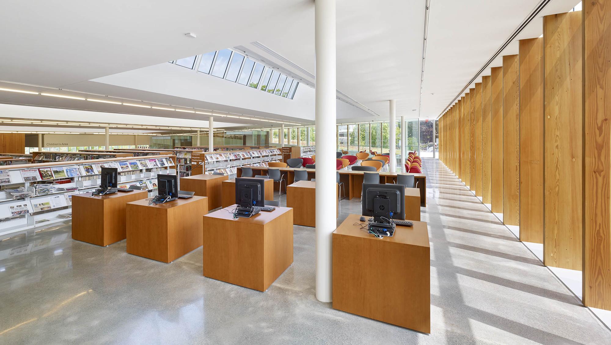 Galer A De Biblioteca Y Centro C Vico Waterdown Rdha 30