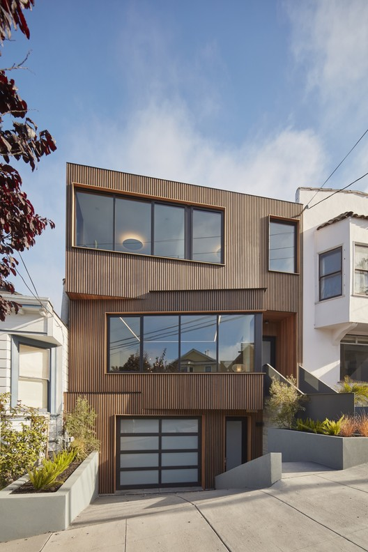 Residência Noe Valley / IwamotoScott Architecture, © Bruce Damonte