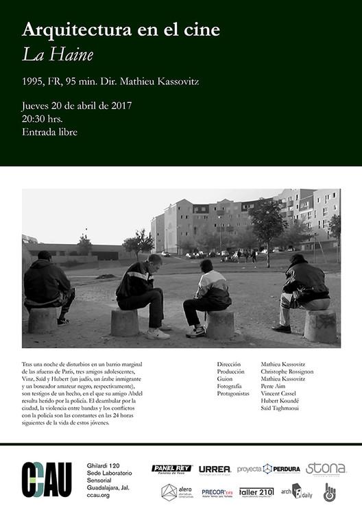 Arquitectura en el cine: La Haine