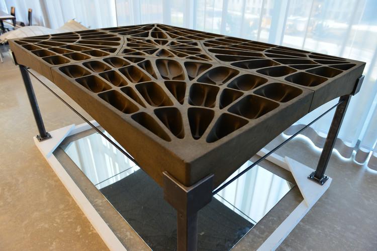Técnicas construtivas góticas inspiram o desenvolvimento de lajes leves de concreto na ETH Zurich, © ETH Zurich / Peter Rüegg.