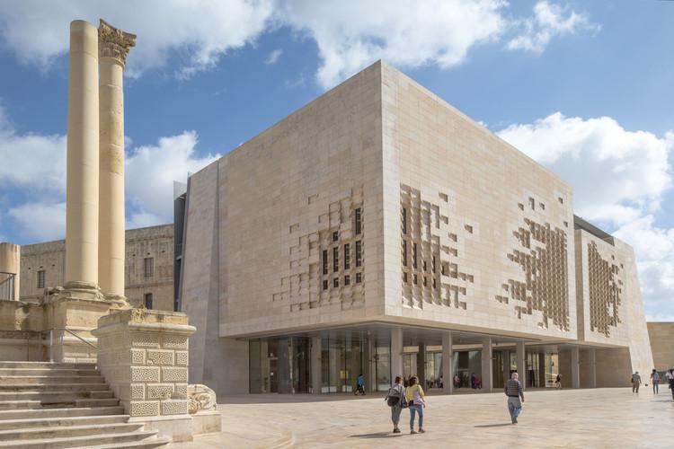 Porta de Valletta de Renzo Piano, pelas lentes de Danica O. Kus, © Danica O. Kus Photography
