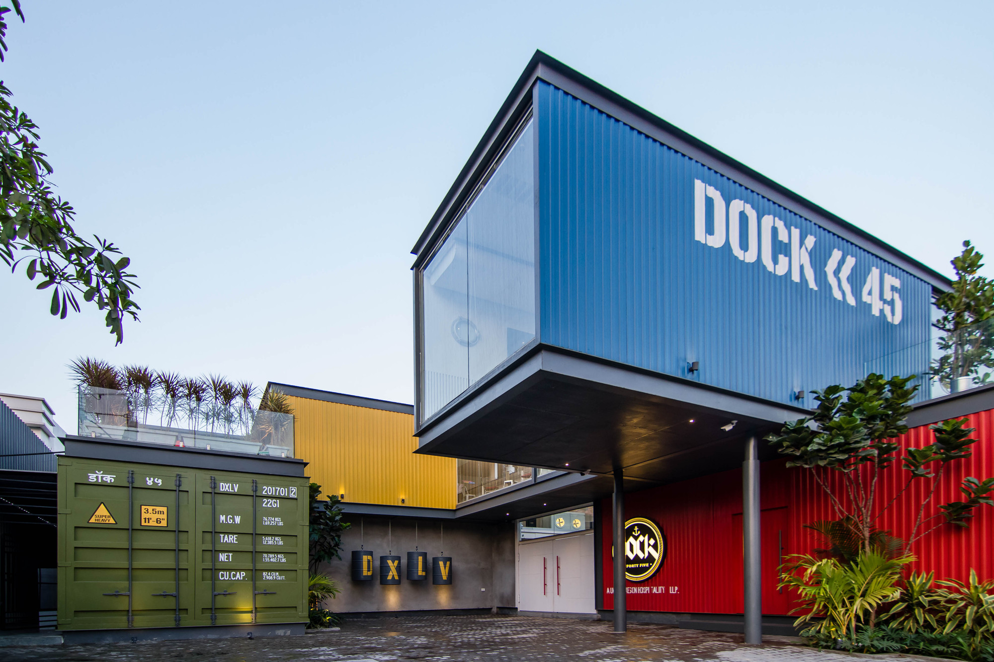 Dock 45 Spacefiction Studio Archdaily