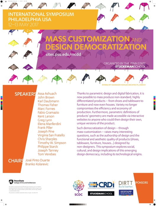 Symposium: Mass Customization and Design Democratization