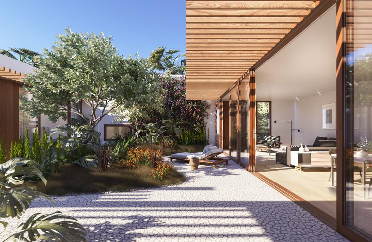 Herzog & de Meuron divulga planos para um edifício residencial de luxo em Miami, Cortesia de Douglas Elliman Real Estate