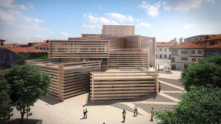 Kengo Kuma & Associates Unveils Stacked Timber Museum in Turkey, Courtesy of Kengo Kuma & Associates