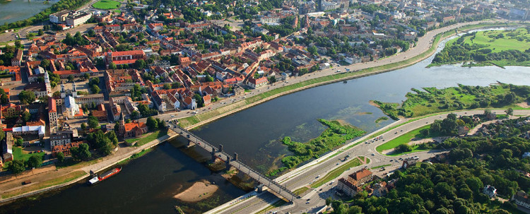 Competition Announced for New Concert Center in Kanaus, Lithuania, © Kaunas City Municipality. Courtesy of Malcolm Reading Consultants