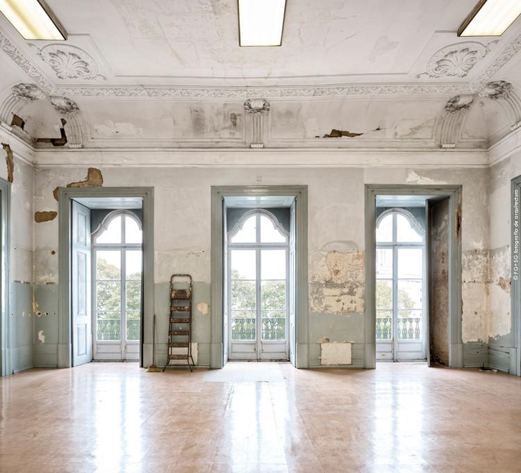 Éric Lapierre escolhido como Curador da Trienal de Arquitetura de Lisboa 2019, O Palácio de Sinel de Cordes em Lisboa (sede da Trienal). Image © Abinadi Meza