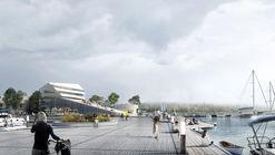 Proposta vencedora de Schauman & Nordgren Architects para revitalização de área portuária