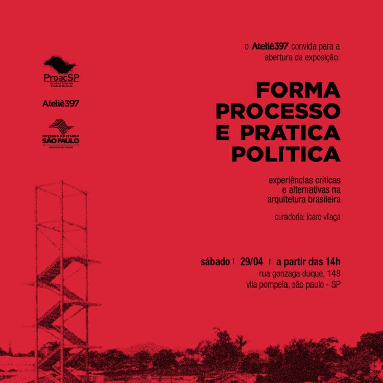"""Abertura da Exposição """"Forma, processo e prática política"""", Divulgação"""