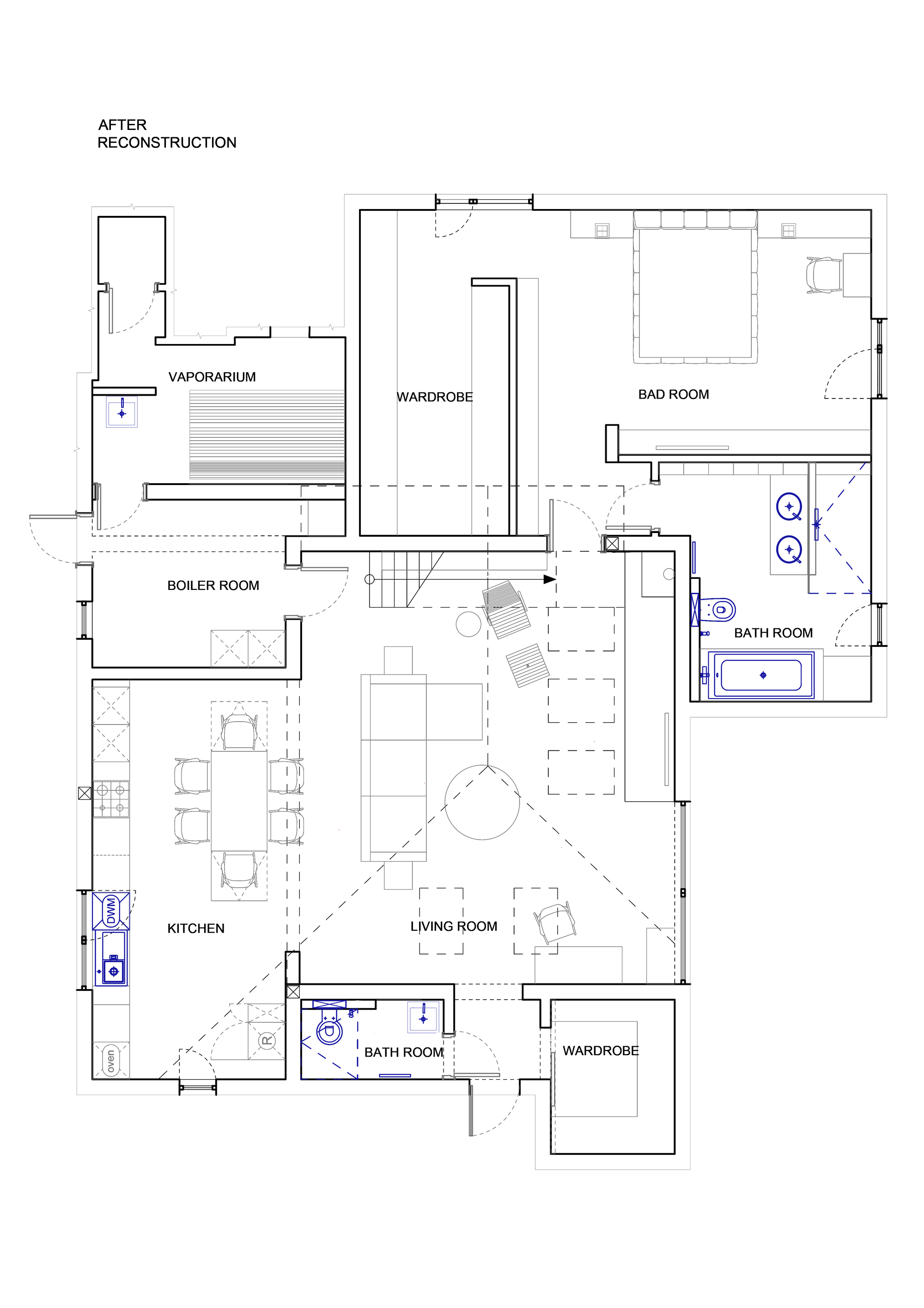 Gallery of House Reconstruction for a Young Family / TSEH ...
