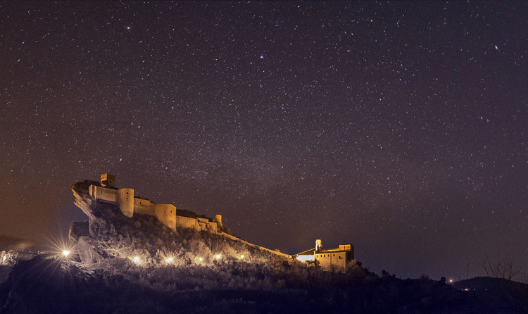 Call for Entries: Italian Castle Observatory and Resort Competition, Courtesy of YAC
