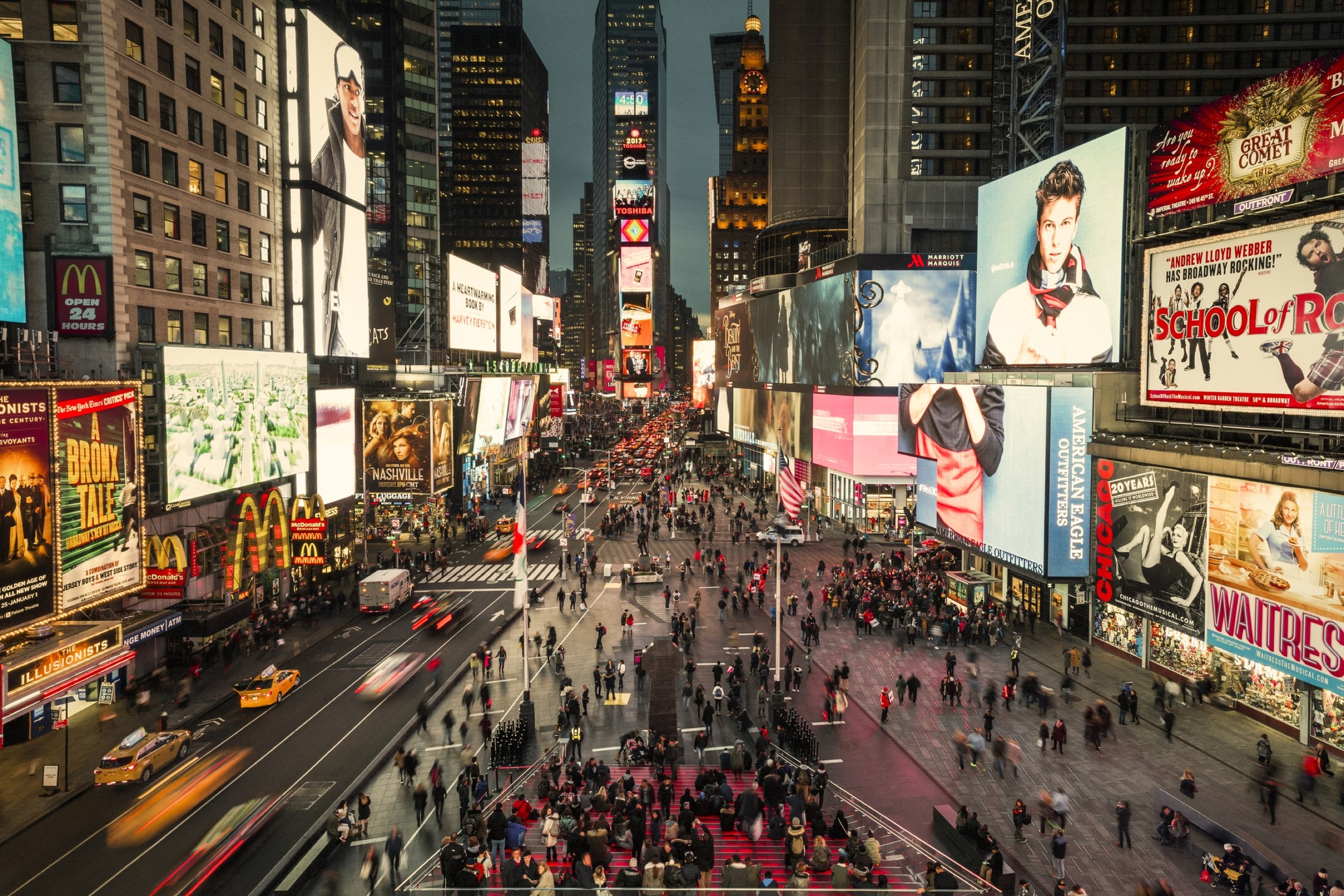 Times Square Celebrates Grand Opening of Snøhetta-Designed