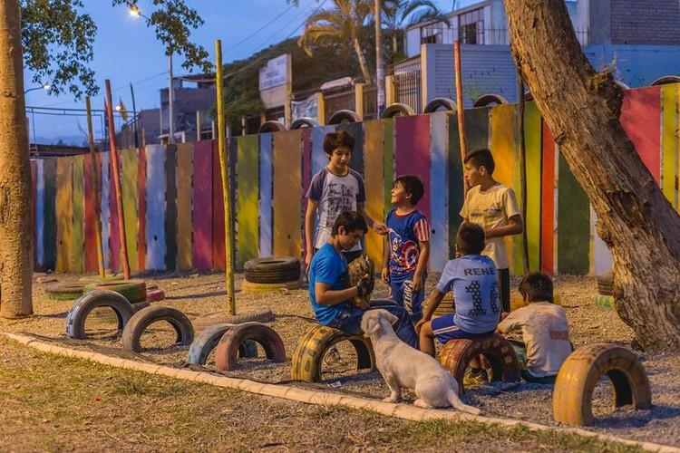Se inaugura el Espacio Público Infantil 'Villa Clorinda de Málaga' en Comas, Lima, Cortesía de Coordinadora de la Ciudad