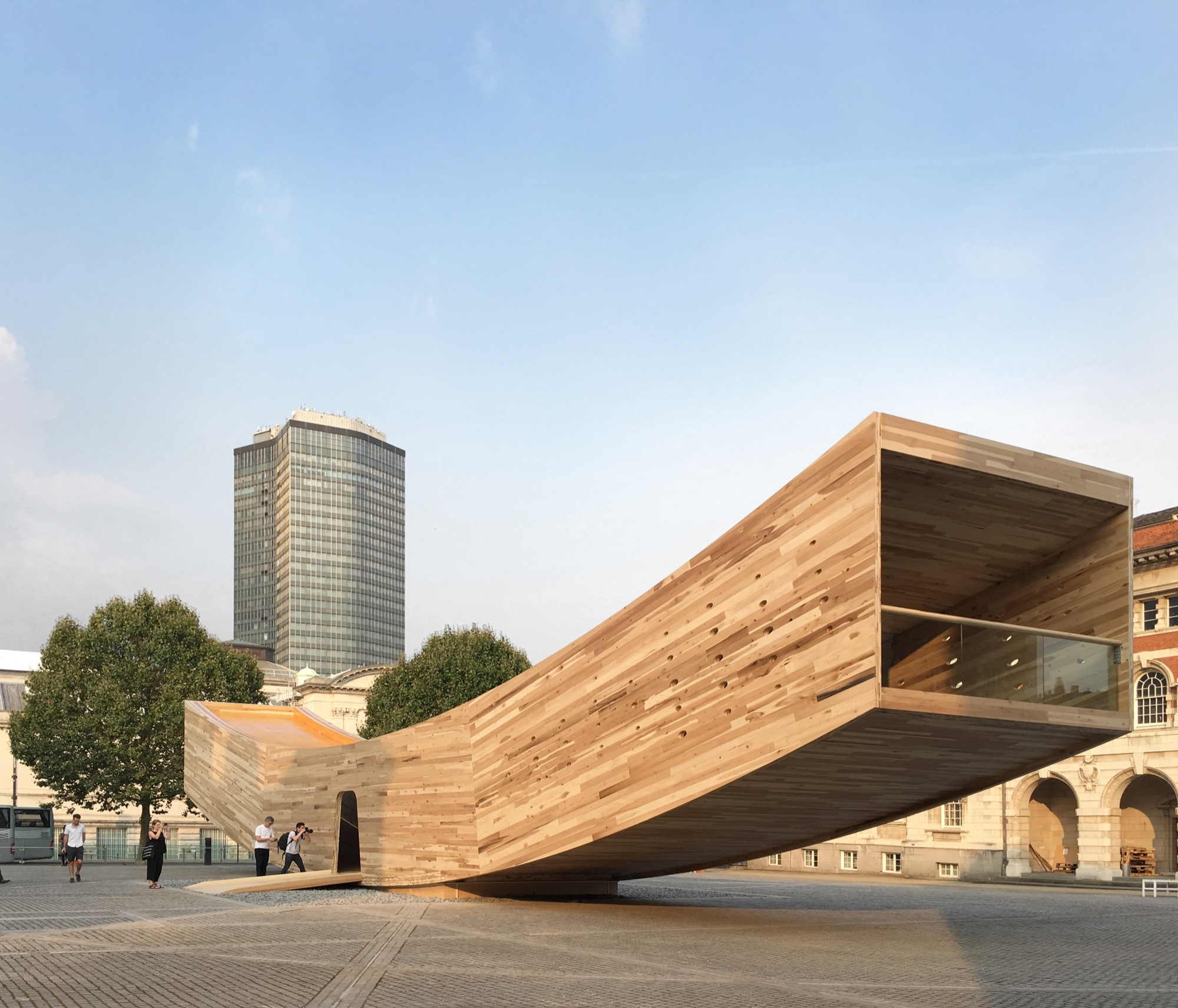 The smile alison brooks architects archdaily for Architecture londres