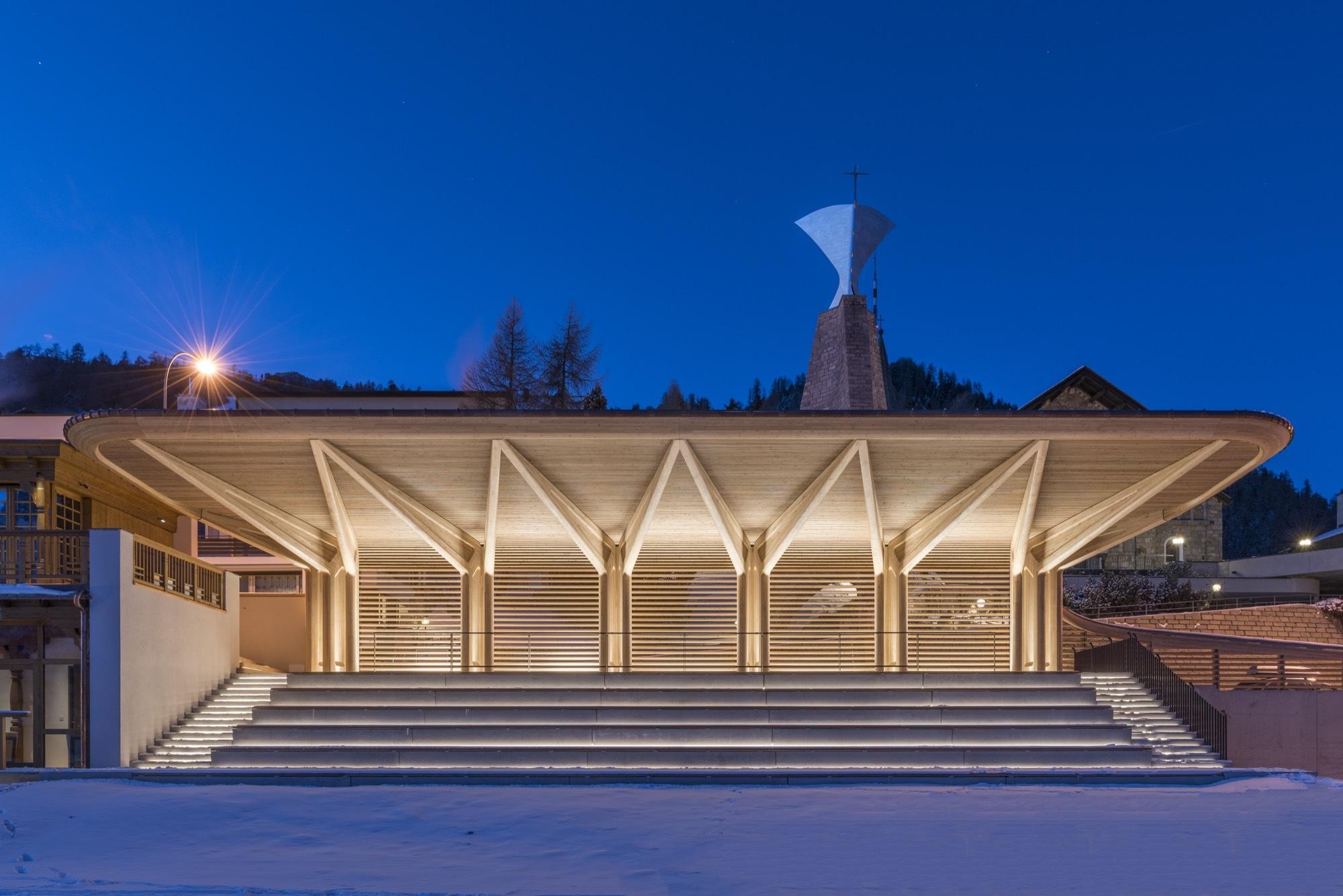 Kulm Eispavilion Foster Partners Archdaily