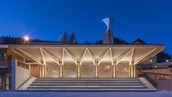 Kulm Eispavilion / Foster + Partners
