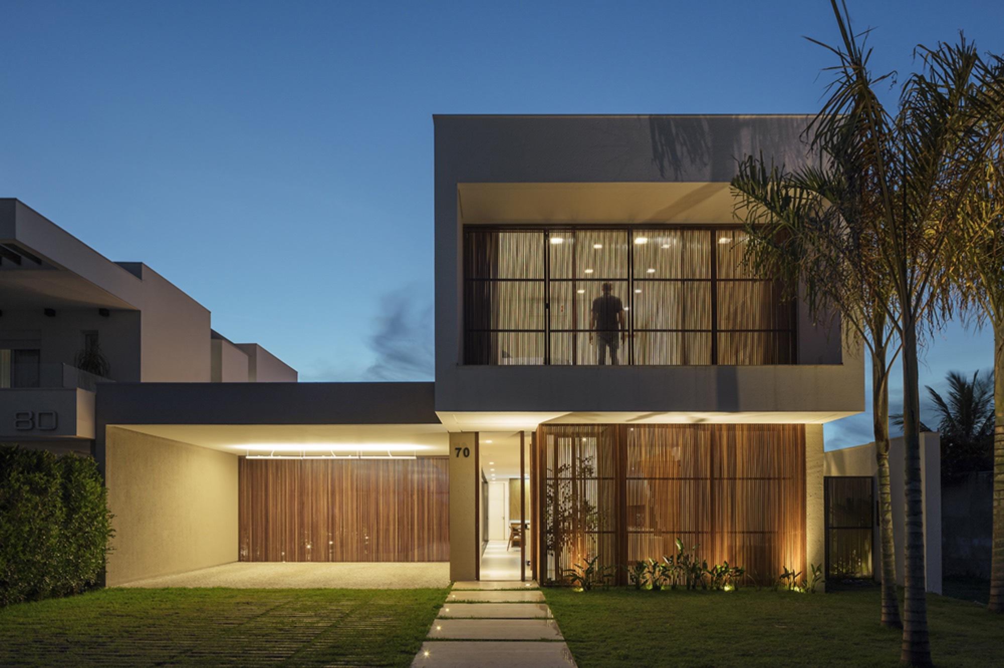 Galeria de casa olhos d gua aguirre arquitetura 1 Modelo de casa l