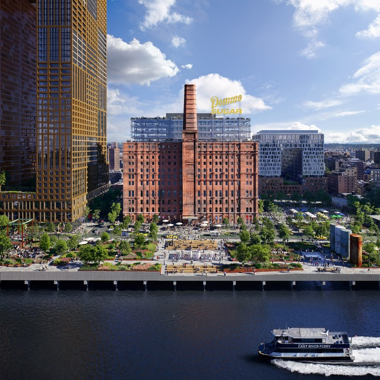 New Images Revealed of Brooklyn's Domino Sugar Factory Redevelopment, © www.mir.no