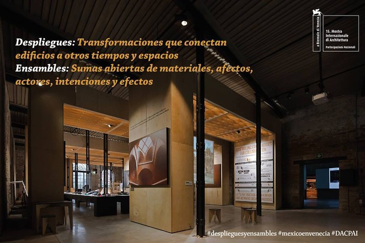 Con la exposición Despliegues y Ensambles se fortalece la relación entre la arquitectura y la comunidad, Cortesía de INBA