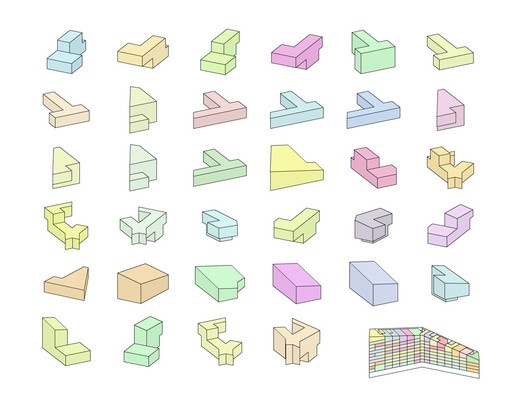 VM Houses. Image via BIG + JDS + PLOT = BIG + JDS