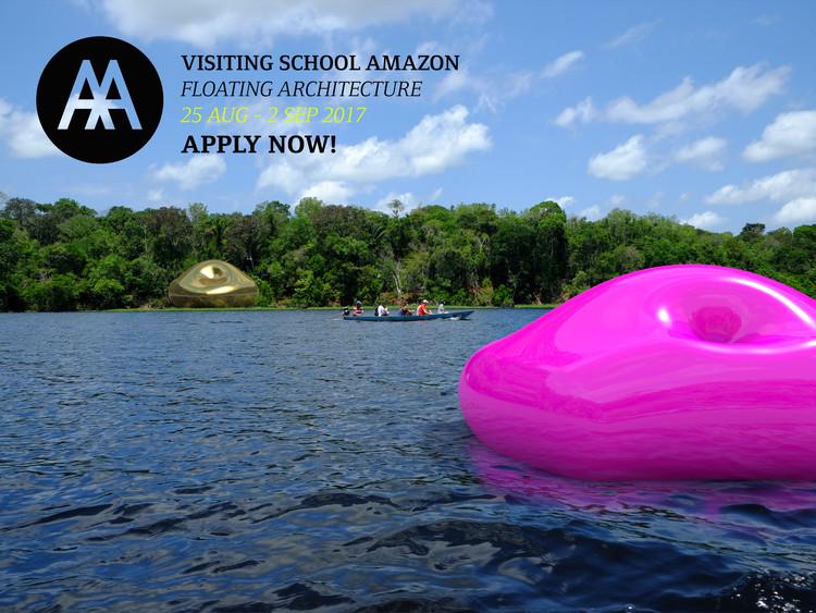 """Inscrições abertas para o curso de """"Arquitetura Flutuante"""" no Amazonas, realizado pelo AA Visiting School Amazonas, Cortesia de AA VISITING SCHOOL AMAZONAS"""