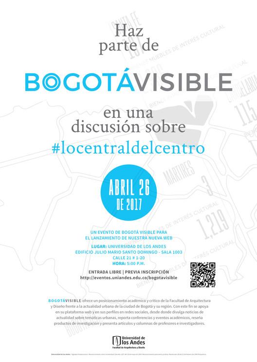 Presentación de Bogotá Visible, un proyecto de divulgación web, Bogotá Visible