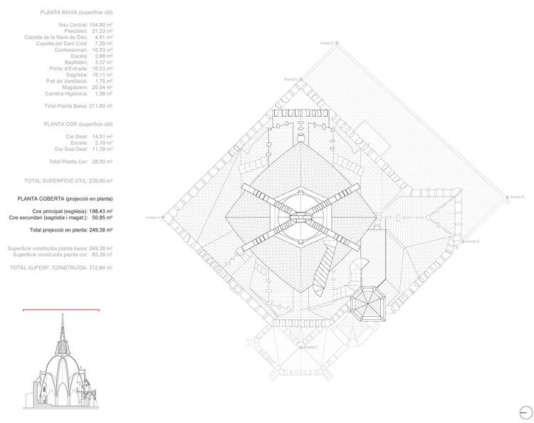 catalan church restored using ingenious tensioning system