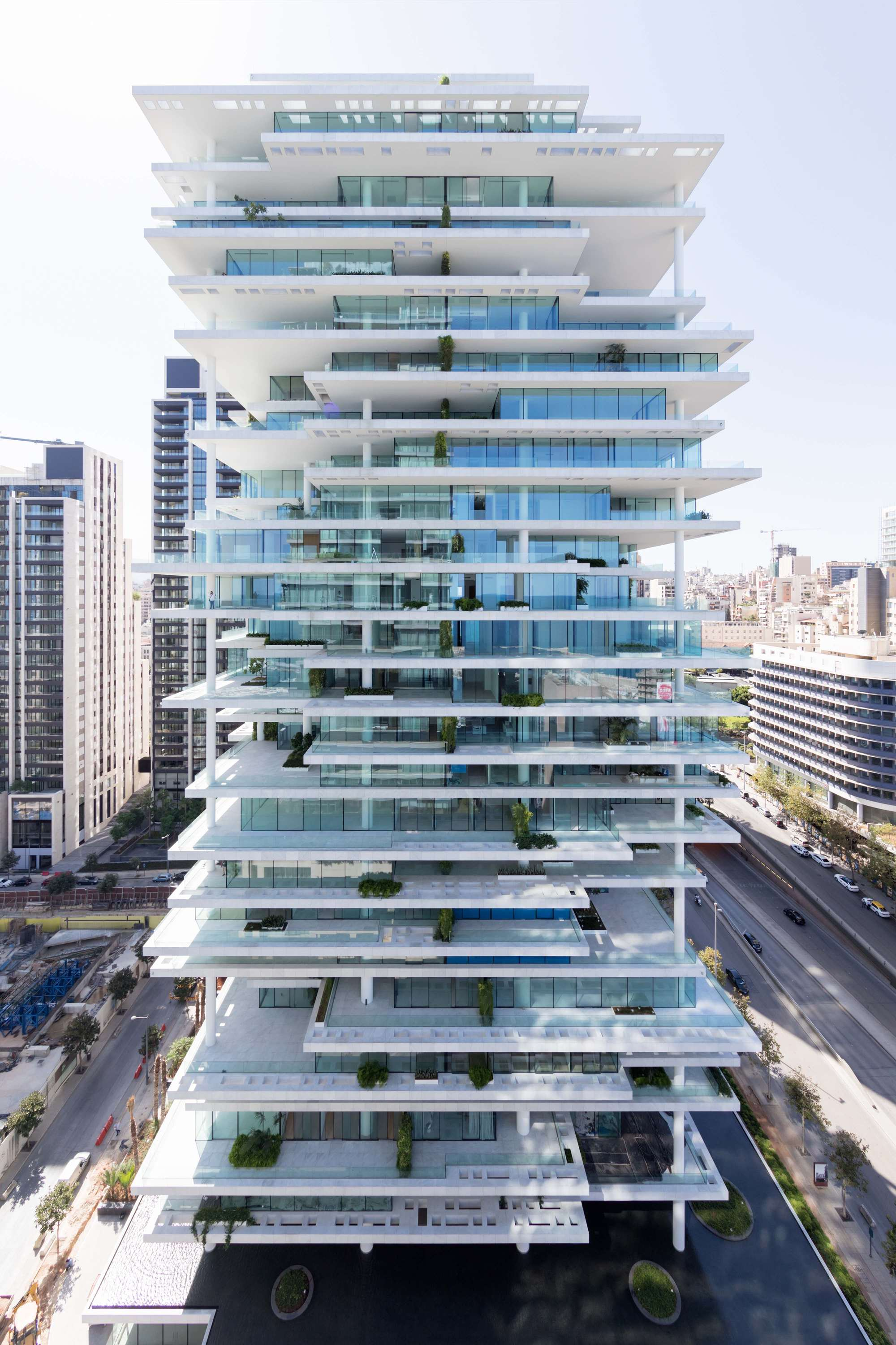 Beirut terraces herzog de meuron archdaily for Design et architecture