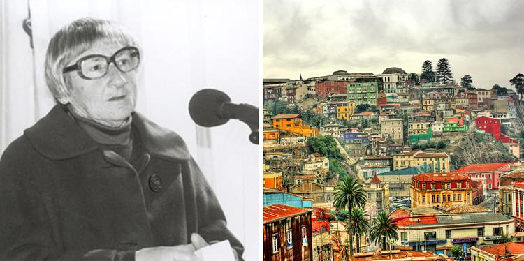 Myriam Waisberg Isaczon: la preservación, valorización y divulgación del patrimonio arquitectónico chileno, Cortesía de Un Día | Una Arquitecta (izquierda) - Wikipedia User TaniaRuiz Licensed Under CC BY-SA 3.0 (derecha)