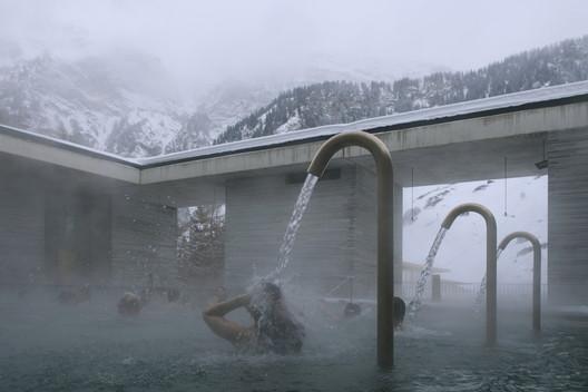 The Therme Vals. Image © Fernando Guerra |  FG+SG