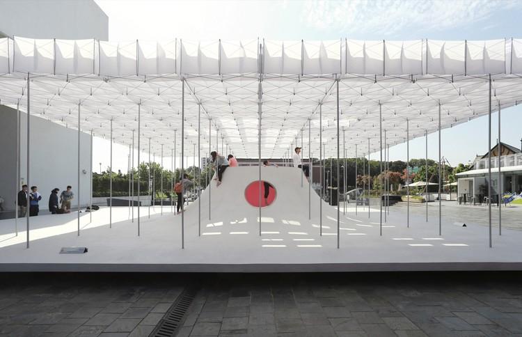 Pabellón flotante  / Shen Ting Tseng architects, © Shawn Liu