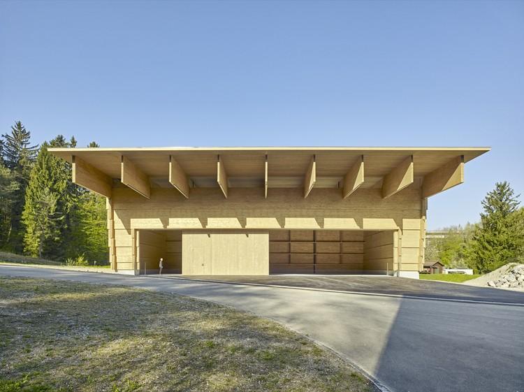 Workshop AWEL Andelfingen / Rossetti+Wyss architects, © Jürg Zimmermann